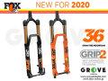 FOX RACING SHOX 2020 [ 36 FLOAT 29 160/170 FIT Grip2 HSC/LSC HSR/LSR 15QR 1.5T 51mm ] FACTORY 【BIKE-ONLINE】 ※メーカー在庫より お取り寄せ