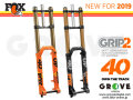 FOX RACING SHOX 2019 [ 40 FLOAT 203 FIT Grip2 HSC/LSC HSR/LSR 20TA 1.125 ] FACTORY 【BIKE-ONLINE】 ※メーカー在庫より お取り寄せ