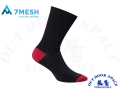 7MESH セブンメッシュ [ ASHLU MERINO SOCK TOTAL ECLIPSE] 【風魔横浜】