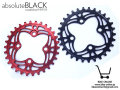 absolute BLACK [ XX1 style, 64BCD Chainring ] 30T 【風魔横浜】
