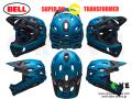 BELL ベル [ SUPER DH MIPS Helmet ] 2019 FASTHOUSE MATTE BLUE-BLACK 【GROVE青葉台】