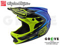 Troy Lee Designs [ D3 COMPOSITE HELMET ] CORONA YELLOW/BLUE / XLサイズ 【GROVE青葉台】  【送料無料】