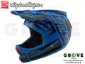 Troy Lee Designs [ D3 FIBERLITE HELMET ] FACTORY Blue 【GROVE青葉台】 ※2018年 発売予定