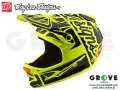 Troy Lee Designs [ D3 FIBERLITE HELMET ] FACTORY Flo Yellow 【GROVE青葉台】