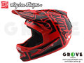 Troy Lee Designs [ D3 FIBERLITE HELMET ] FACTORY Red 【GROVE青葉台】 ※2018年 発売予定