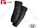 G-Form ジーフォーム [ Elite Knee Guard ひざ用プロテクター ] ブラックxグレー ニー ガード 【風魔横浜】 ※パッケージなし