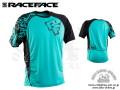 Race Face [ INDY SS Jersey 2017 ] Turquoise/Black 【風魔新宿】