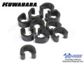 KUWAHARA [ Cable Clips ] 10コ入り 【風魔横浜】