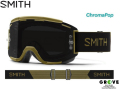 SMITH スミス [ Squad XL MTB Goggle ゴーグル ] Mystic Green - ChromaPop Sun Black 【GROVE青葉台】