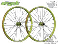 SPANK [ OOZY TRAIL345 650b 32H  ] F&R WHEEL SET / F:15/20mm  R:142x12mm / Green 【風魔新宿】 ※ 在庫限定特価