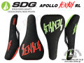 SDG [ APOLLO SENSUS センサス RL サドル ] Black Red/Neon Green 【GROVE青葉台】