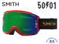 SMITH スミス [ Squad MTB Goggle ゴーグル ] 50to01 - ChromaPop Everyday Green Mirror /Clear AF【風魔横浜】