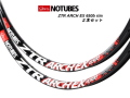 STAN'S [ NOTUBES ARCH EX 650b 32H ] リム 2本セット【デカール旧デザイン】【風魔新宿】