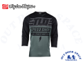 Troy Lee Designs  [ RUCKUS 3/4 Sleeve Jersey ジャージ ] 2019 / BOLT FATIGUE GREEN/BLACK 【風魔横浜】
