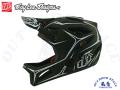 Troy Lee Designs トロイリーデザインズ [ STAGE Helmet Mips 2020 ] PINSTRIPE - Black/White フルフェイス ヘルメット 【風魔横浜】