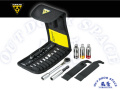 TOPEAK [ Rachet Rocket Lite NTX ] 15 Tools 携帯ラチェット ツールキット 【風魔横浜】