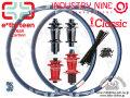完組ホイール [ e.thirteen TRSR Carbon Fiber 27,5 (650B) × INDUSTRY NINE TORCH Classic Hub ] 32H F&R WHEEL SET 【風魔新宿】