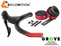CICLOVATION シクロベイション [ TAPE Advanced Leather Touch Shinning Metallic ] Apple Red 【 GROVE鎌倉 】
