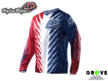Troy Lee Designs [ GP JRSY SHOCKER RD/W/BLU ] 【 GROVE青葉台 】