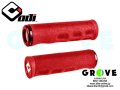 ODI Grip [ DREAD LOCK Lock-on GRIP ] RED 【 GROVE鎌倉 】