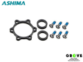 ASHIMA [ AH-BS5-BK ] ブーストハブアダプター フロント用 【 GROVE青葉台 】