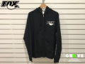 FOX Racing Shox [ HOODY 裏起毛 Zip-up パーカー ] BLACK 【GROVE青葉台】