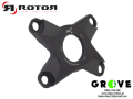 ROTOR ローター [ DIRECT MOUNT SPIDER 110 4ARM ] BLACK 【 GROVE鎌倉 】
