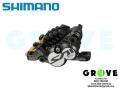 SHIMANO シマノ [ SAINT DISC ブレーキ キャリパー 片側 ] BR-M820 / Ice-Tech H03CFIN付メタルパッド 【 GROVE鎌倉 】