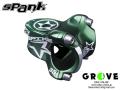 SPANK スパンク [ SPIKE STEM ] φ31.8×35mm / Green 【 GROVE鎌倉 】