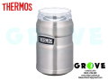 THERMOS [ 保冷缶ホルダー ] ROD-002/SILVER 【 GROVE鎌倉 】