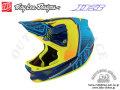 Troy Lee Designs [ D3 Comp HELMET ] Starburst Yellow 【風魔新宿】