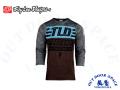 Troy Lee Designs  [ RUCKUS 3/4 Sleeve Jersey ジャージ ] 2019 / BOLT DK MOKA/HEATHER GRAY 【風魔横浜】