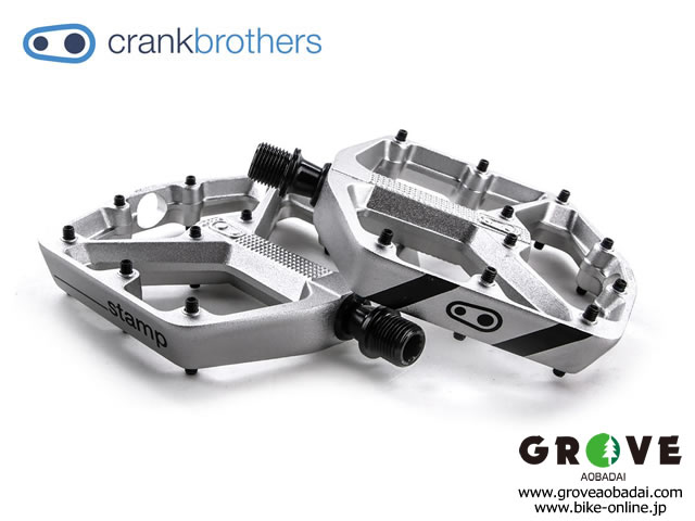 crankbrothers クランクブラザーズ [ Stamp 3 Pedals ペダル ] DANNY MACASKILL Silver / Large  【GROVE宮前平】