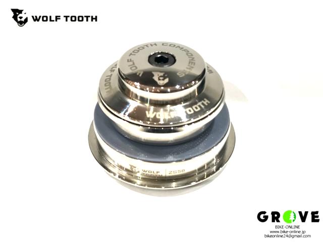 Wolf tooth ウルフトゥース [ ヘッドセット 上下ワンセット ] ニッケル 【 GROVE青葉台 】