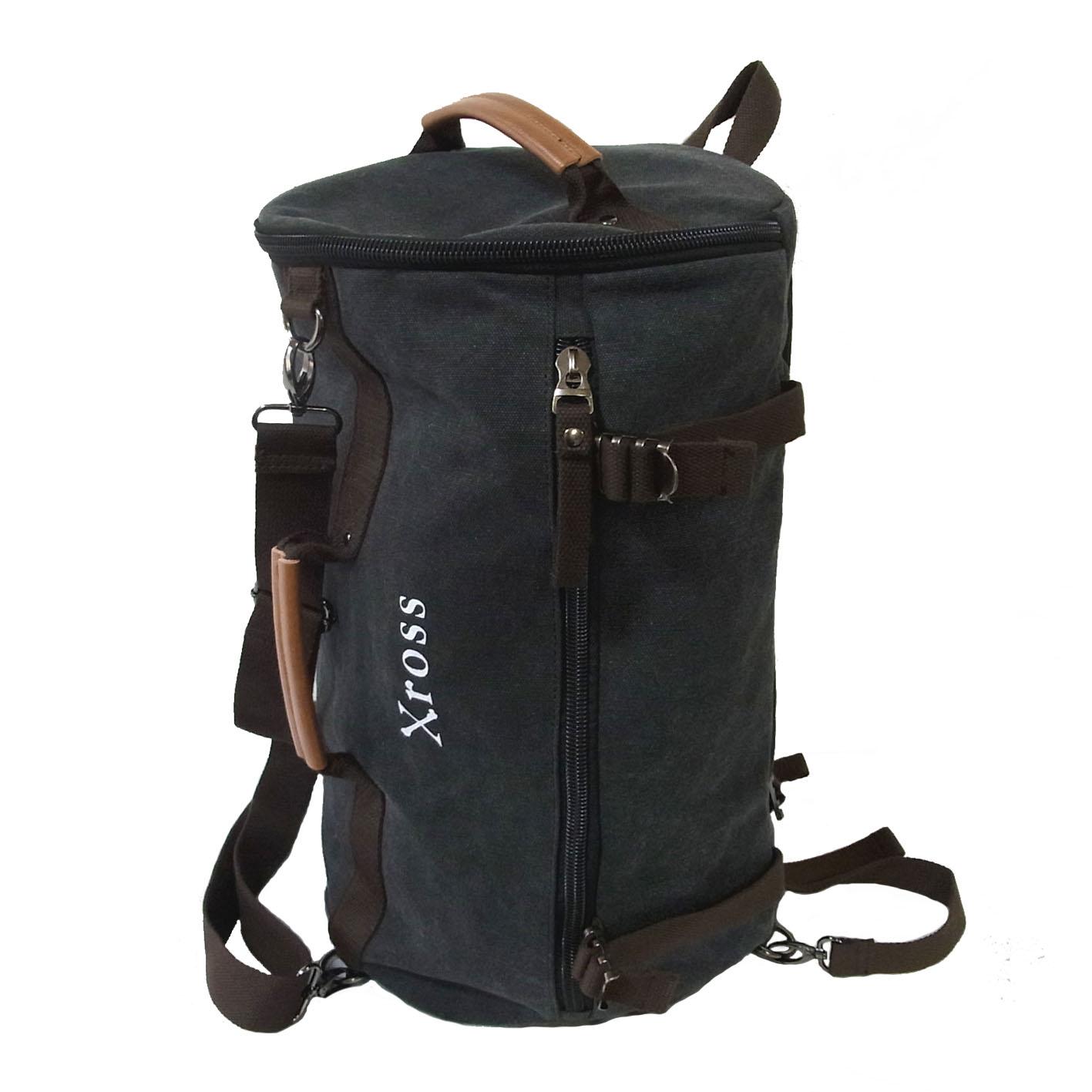 Xross クロス ボストンリュックA バックパック ボストンバッグ キャンバスバッグ