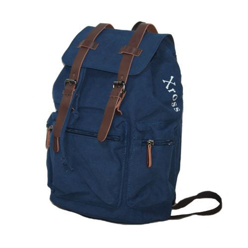 Xross クロス 多収納リュック バックパック キャンバスバッグ