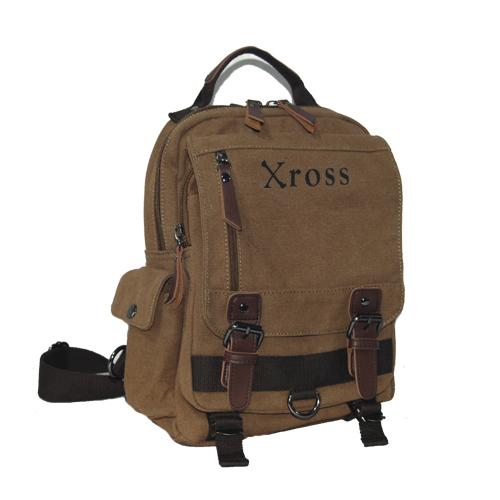Xross クロス ワンショルダーバッグ ボディーバッグ キャンバスバッグ