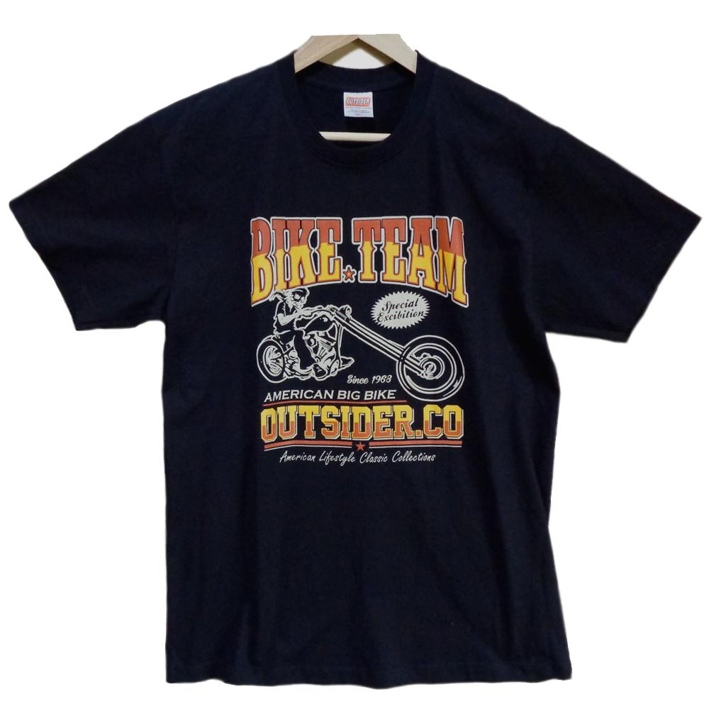 OUTSIDER アウトサイダー デザインTシャツ XLサイズ