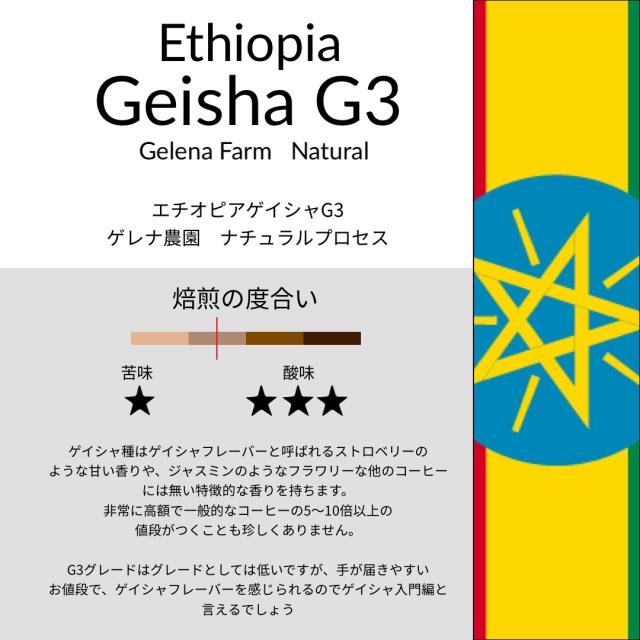エチオピア ゲイシャG3
