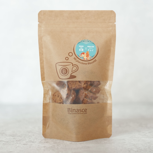 【Mサイズ】Biscotti ~zucchero di  Masala Chai~(黒糖マサラチャイ) 70g