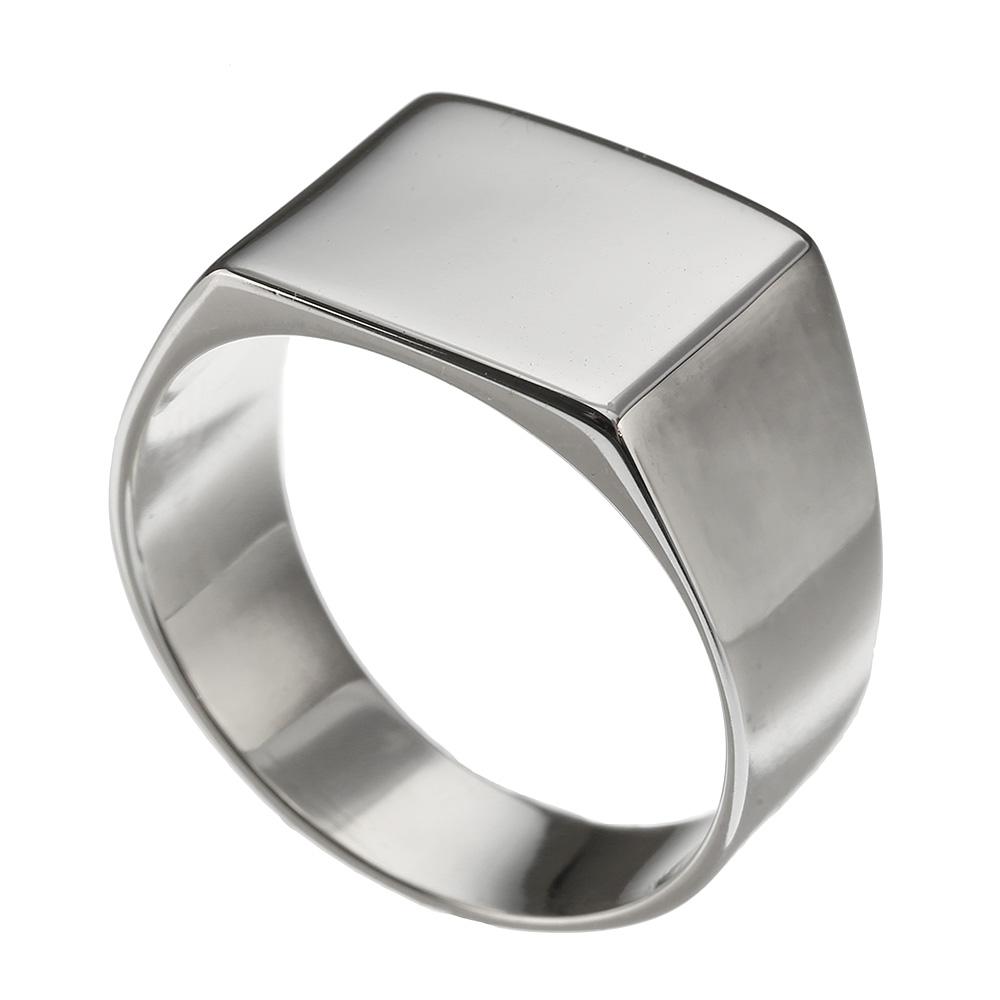 シンプル 印台 リング シルバー アクセサリー 指輪 [シルバーリング] 送料無料