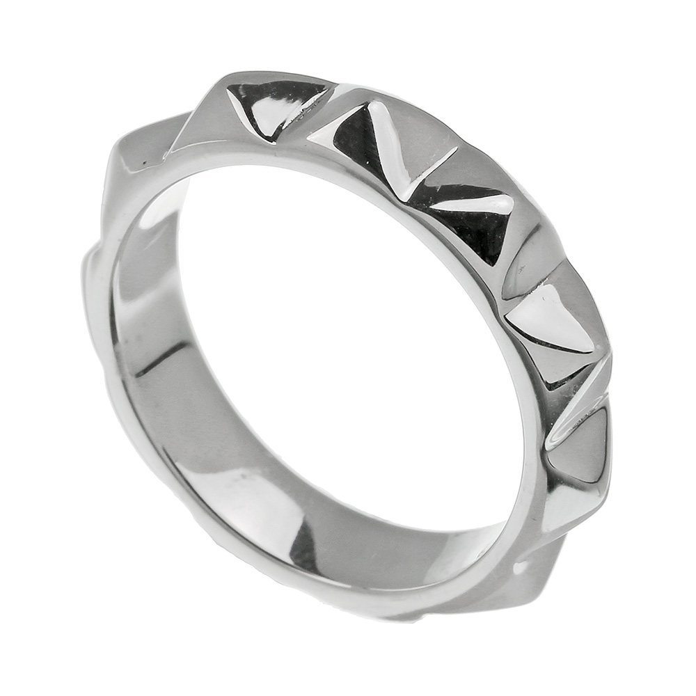 ピラミッド スタッズ リング シルバー アクセサリー 指輪 [シルバーリング]