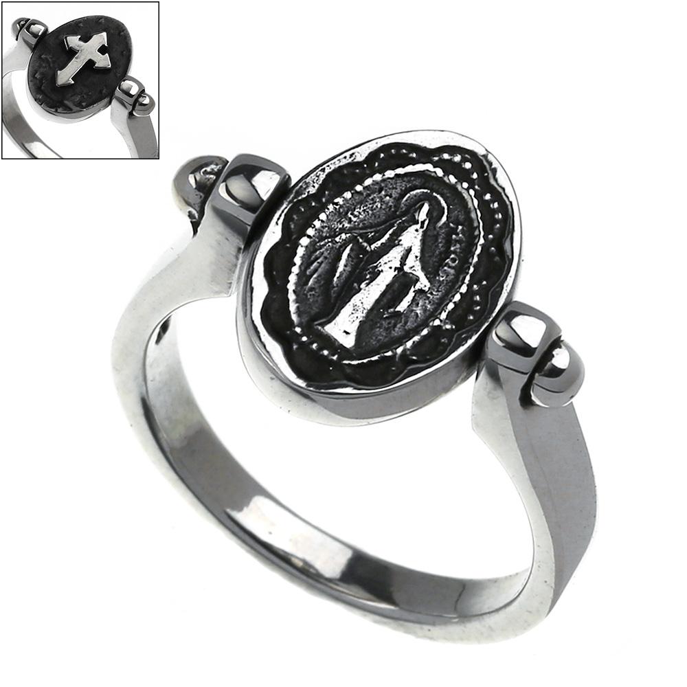 クロス マリア ターン リング シルバー アクセサリー 指輪   [シルバーリング] 送料無料