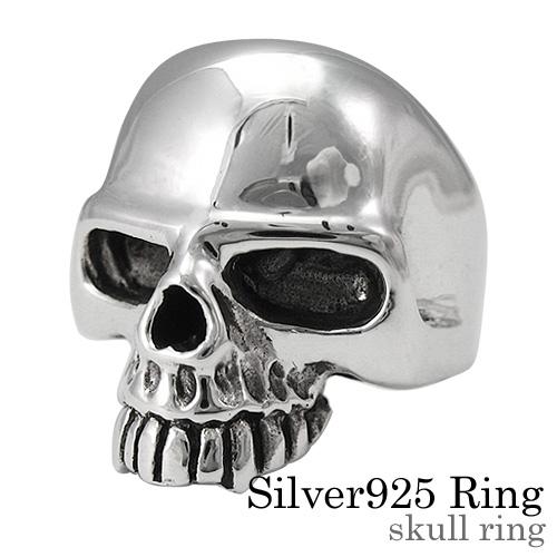 スカル リング シルバー アクセサリー 指輪 [シルバーリング] 送料無料