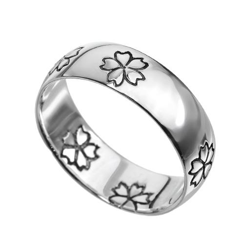 【有料刻印可能】サクラ リング シルバー さくら 桜 和柄 指輪 [シルバーリング]