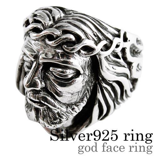 ゴッドフェイス リング シルバー アクセサリー 指輪 [シルバーリング] 送料無料