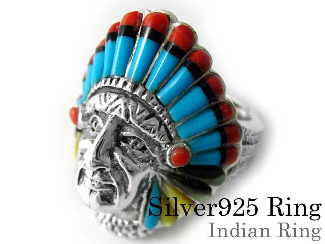 インディアン リング シルバー アクセサリー 指輪 [シルバーリング]