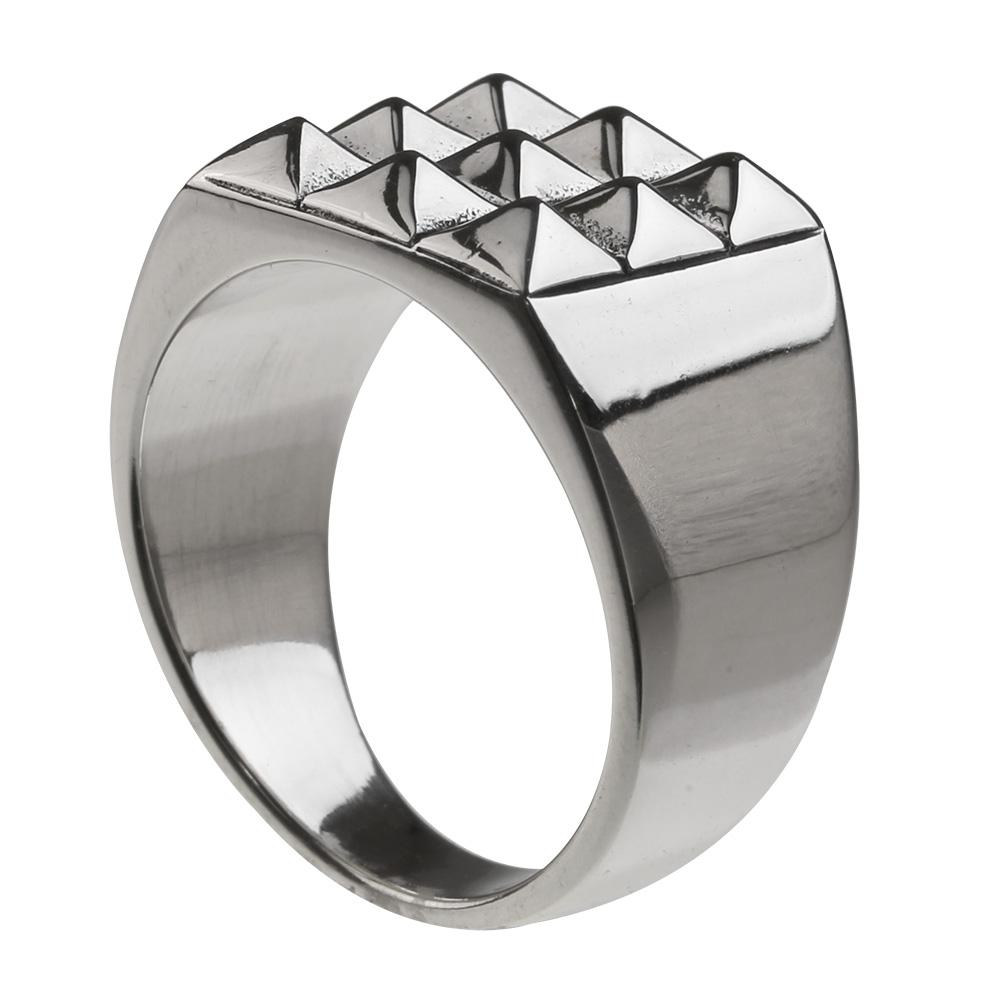ナイン スタッズ リング シルバー アクセサリー 指輪 スタッド  [シルバーリング] 送料無料