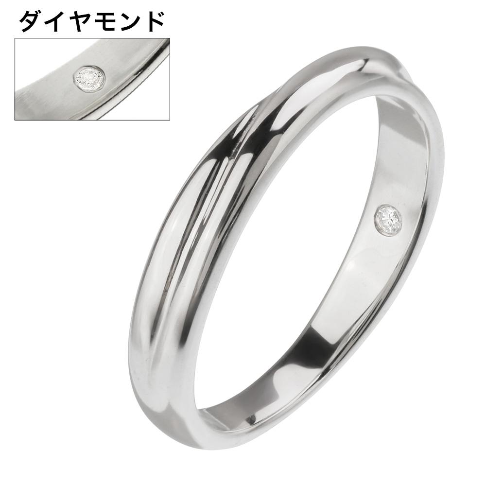 【単品販売】 ダイヤモンド インフィニティ リング ペアリング シルバー アクセサリー 指輪 [シルバーリング] 送料無料