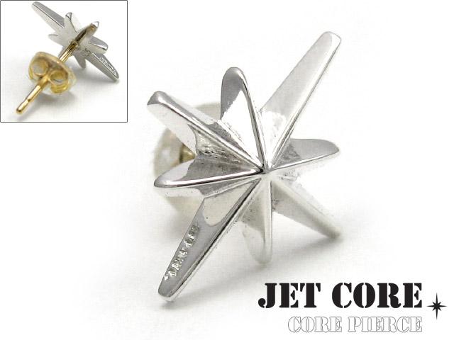 JET CORE (ジェットコア) コア ピアス メンズ 男性 [シルバーピアス] 送料無料 片耳用(1個売り)